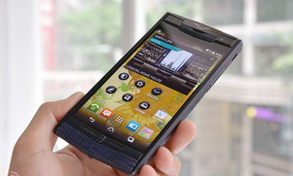 真正土豪手机体验:Vertu新机要价12万(图)
