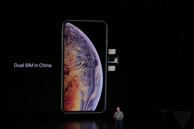 苹果发布iPhoneXs:支持双卡双待 售价8699元起