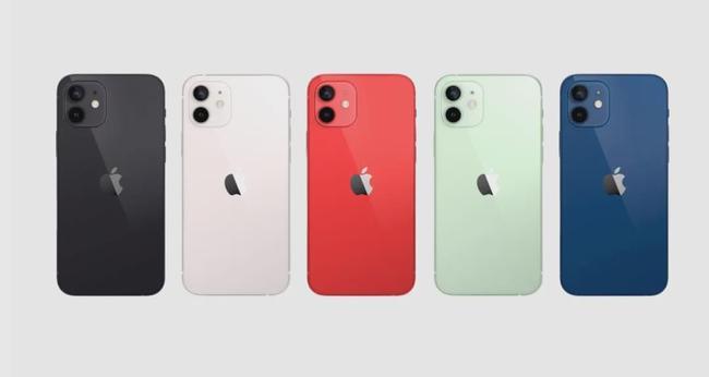 苹果发布iPhone12全