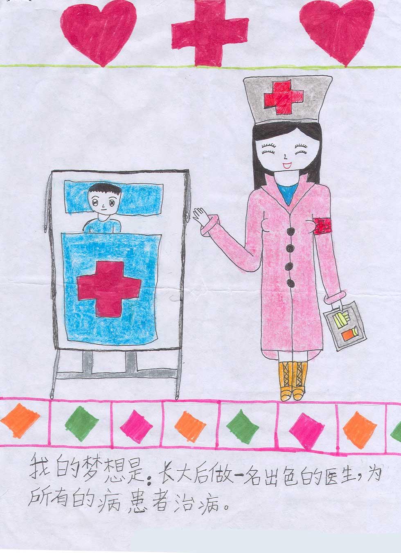 幼儿我的梦想绘画图片 我的梦想绘画作品,我的梦想绘画图片
